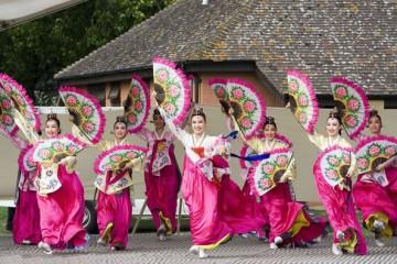 """Múa quạt Buchaechum – điệu múa """"đại sứ"""" của Hàn Quốc"""
