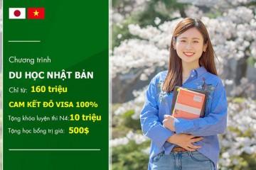 Tặng 50 suất học bổng khi đi du học Nhật Bản kỳ tháng 1/2019