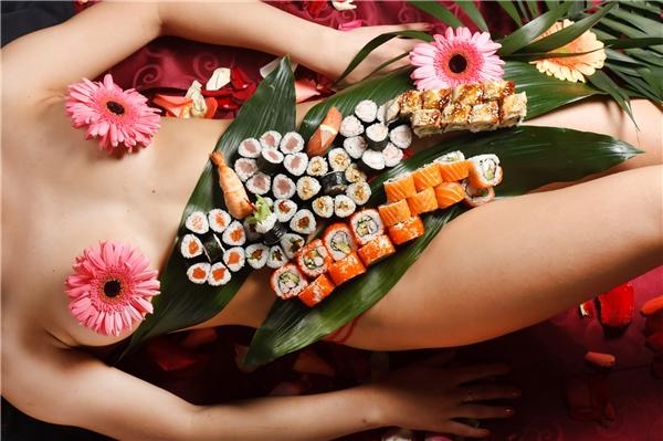 Ẩm thực Nhật Bản - Sushi trinh nữ
