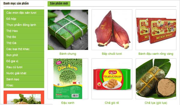 Mua thực phẩm Việt Nam ở đâu