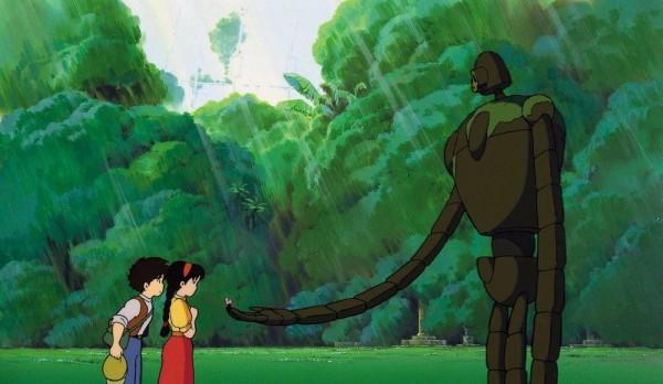 Phim hoạt hình Nhật Bản - Lâu đài trên không