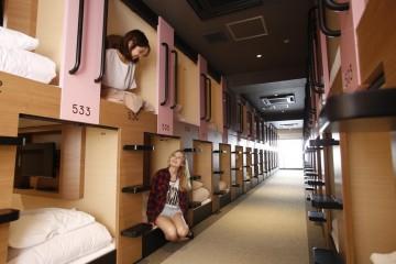 Những quán trọ con nhộng chỉ có ở Nhật Bản