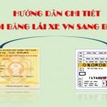 Đổi bằng lái xe Việt Nam sang bằng lái xe Nhật