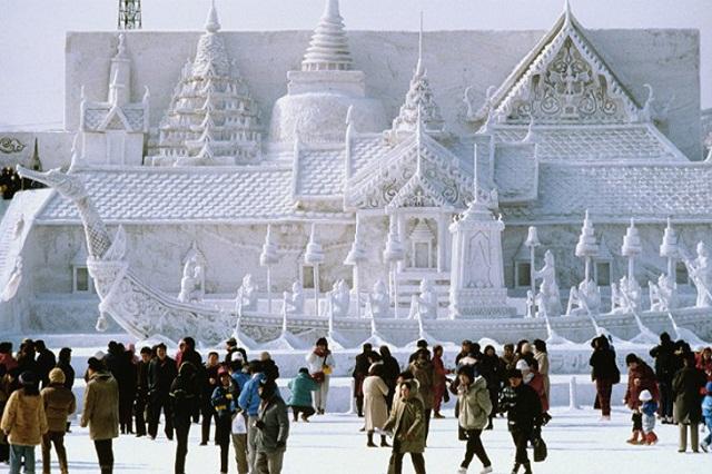 Lễ hội tuyết tại Sapporo